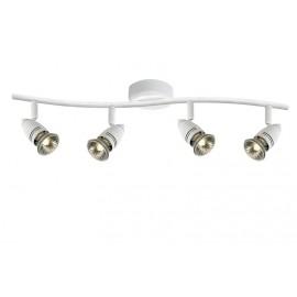 Φωτιστικό οροφής LUCIDE CARO-BIS SPOT BOW 4xGU10/50W WHITE