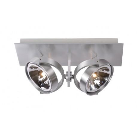 Φωτιστικό οροφής LUCIDE SPECTRUM Spot 2ΧQR111 /50W incl. Alu