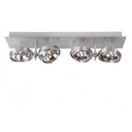 Φωτιστικό οροφής LUCIDE SPECTRUM Spot 4XQR111 /50W incl. Alu