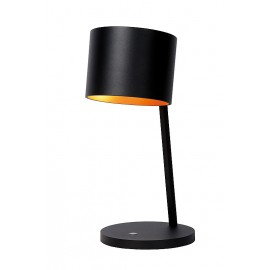 Επιτραπέζιο Φωτιστικό Led LUCIDE KAIN TABLE LAMP 11W DIM. H40 D18cm BLACK