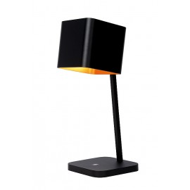 Επιτραπέζιο Φωτιστικό Led LUCIDE KAIN TABLE LAMP 11W DIM. H40 L15 B15cm BLACK