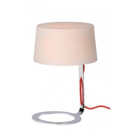 Επιτραπέζιο Φωτιστικό LUCIDE AIKO TABLE LAMP G9 D16 H24cm OPAL GLASS/CHR