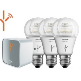 OSRAM LIGHTIFY STARTER KIT 3:  1x Gateway + 3 x CLA60 CLEAR Dimmbar
