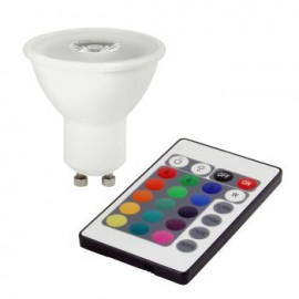 Spot Led BIOLEDEX HELSO 3W GU10 LED SPOT RGB με Τηλεχειριστήριο