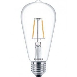 Λαμπτήρας Led PHILIPS DECO ST64 LED FILAMENT E27 4.3-40W