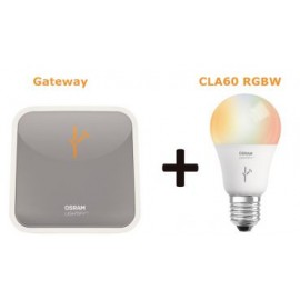 OSRAM LIGHTIFY STARTER KIT: 1 x Gateway + 1 x CLA60 RGBW