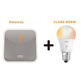 OSRAM LIGHTIFY STARTER KIT: 1 x Gateway + 1 x CLA60 RGBW