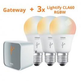 OSRAM LIGHTIFY STARTER KIT 4: 1x Gateway + 3 x CLA60 RGBW